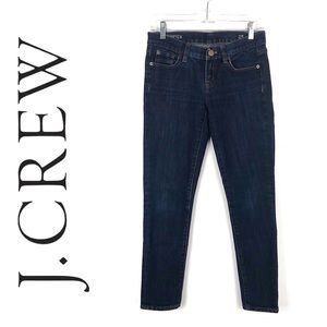 J. Crew Toothpick Ankle Skinny Jeans